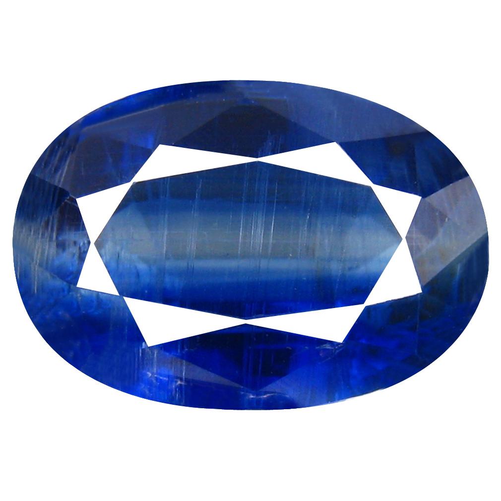 3.55 ct AA+ Marvelous Oval Shape (11 x 7 mm) Blue Kyanite Natural Gemstone