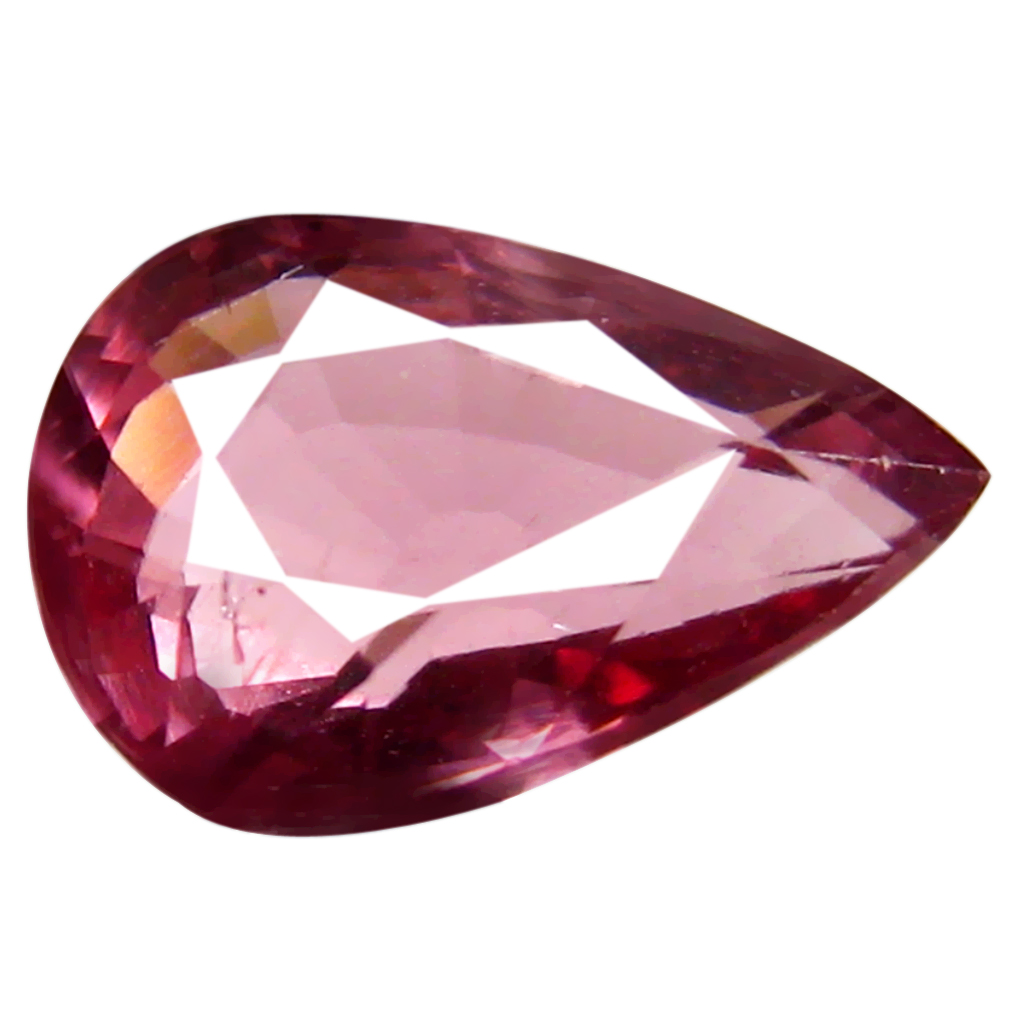 1.10 ct AAA+ Amazing Pear Shape (8 x 5 mm) Pinkish Orange Malaya Garnet Natural Gemstone