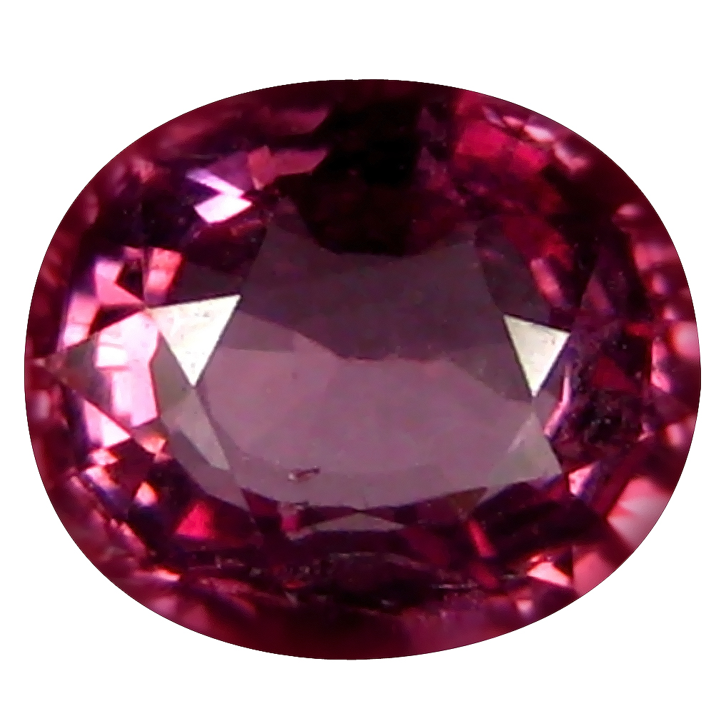 0.94 ct AAA+ Beautiful Oval Shape (6 x 5 mm) Pinkish Orange Malaya Garnet Natural Gemstone