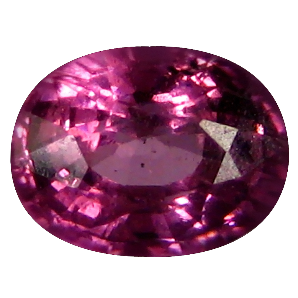 0.76 ct AAA+ Fabulous Oval Shape (6 x 4 mm) Pinkish Orange Malaya Garnet Natural Gemstone