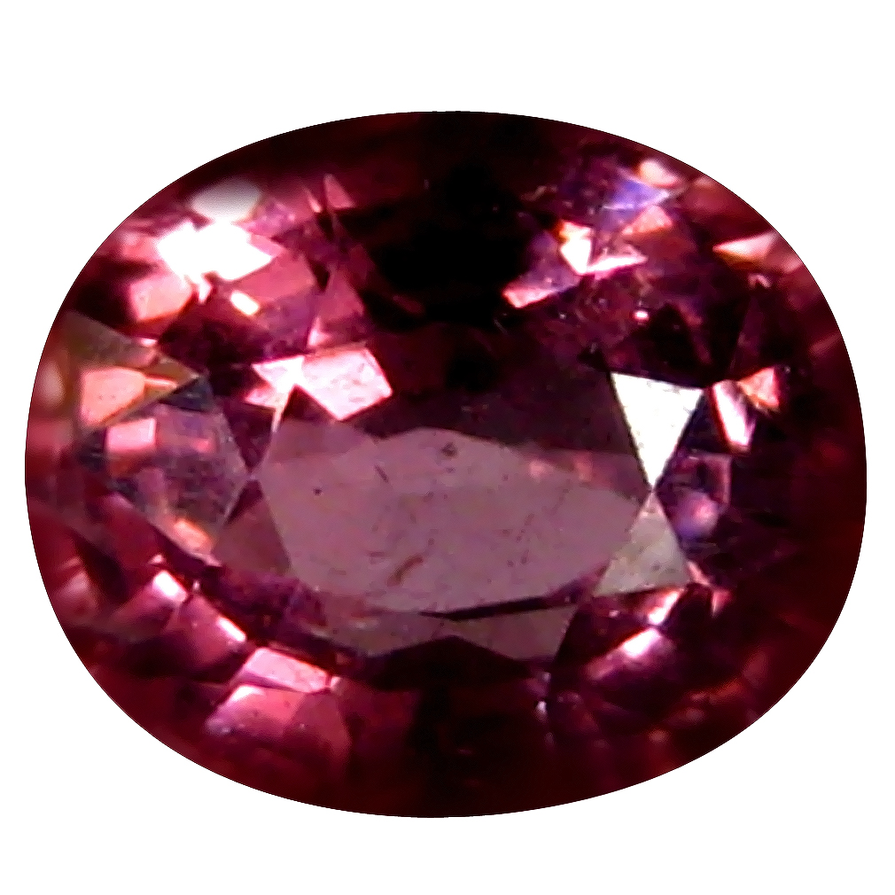 0.87 ct AAA+ Very good Oval Shape (6 x 5 mm) Pinkish Orange Malaya Garnet Natural Gemstone