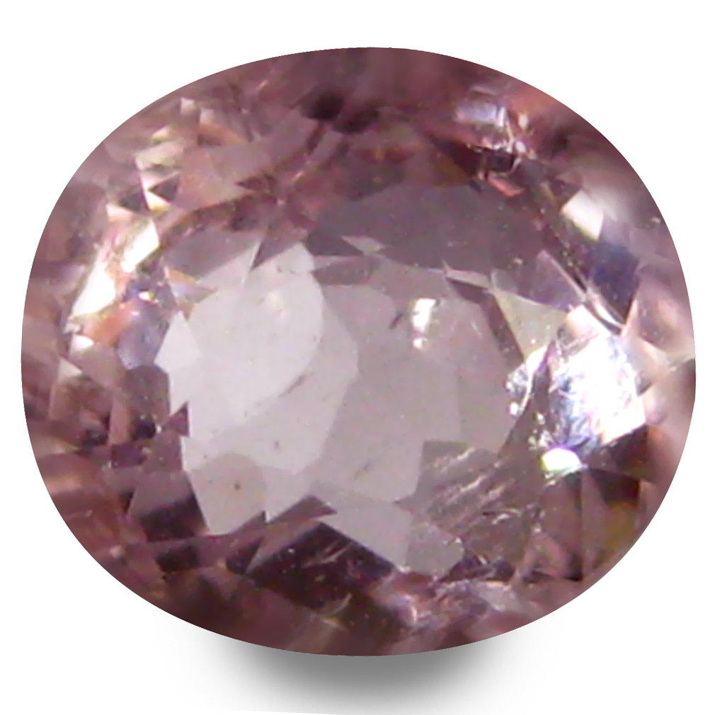 0.74 ct AAA Attractive Oval Shape (6 x 5 mm) Pink Morganite Natural Gemstone