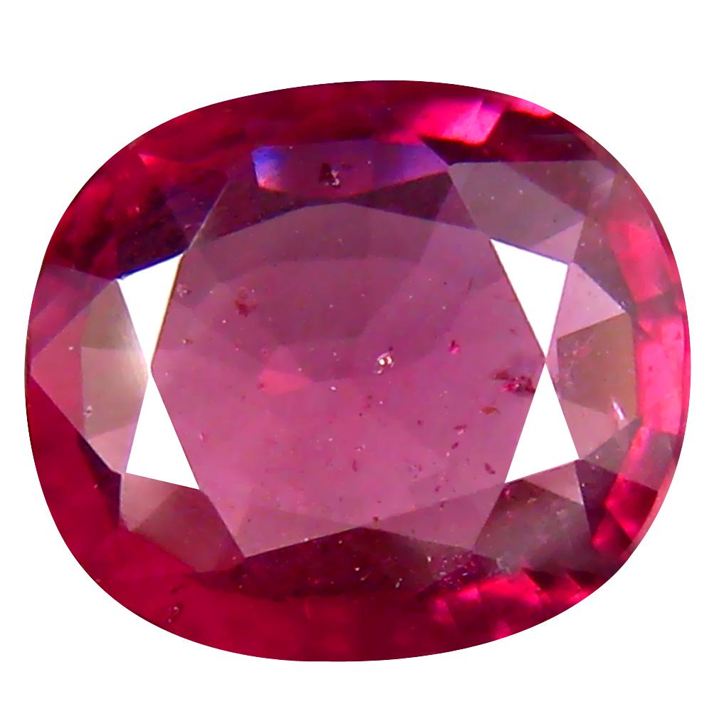 2.26 ct Super-Excellent Un-Heated Oval Cut (9 x 8 mm) Purplish Pink Rhodolite Garnet