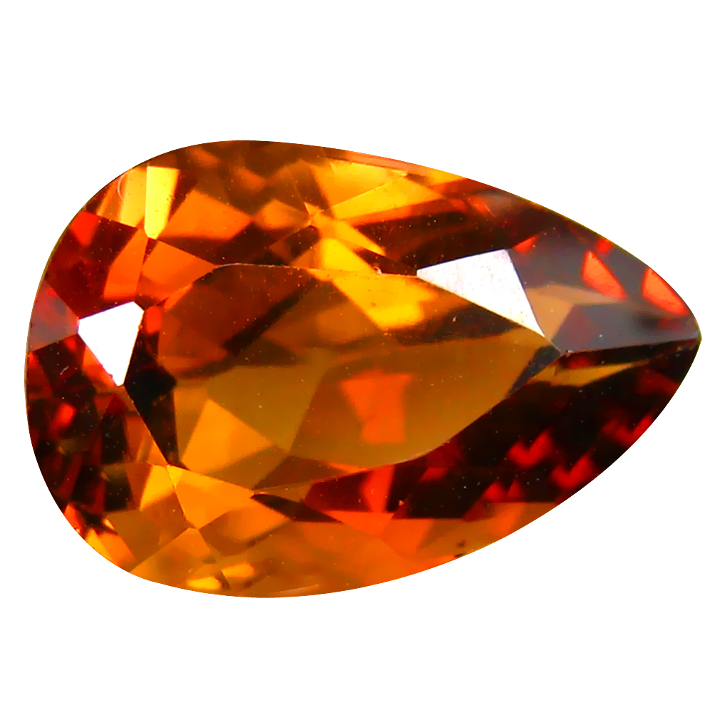 12.20 ct AAA Spectacular Pear Shape (16 x 11 mm) Champagne Champion Topaz Natural Gemstone