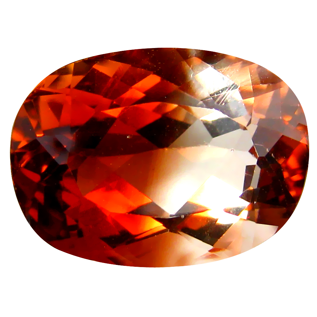 11.29 ct AAA Incomparable Oval Shape (16 x 11 mm) Champagne Champion Topaz Natural Gemstone