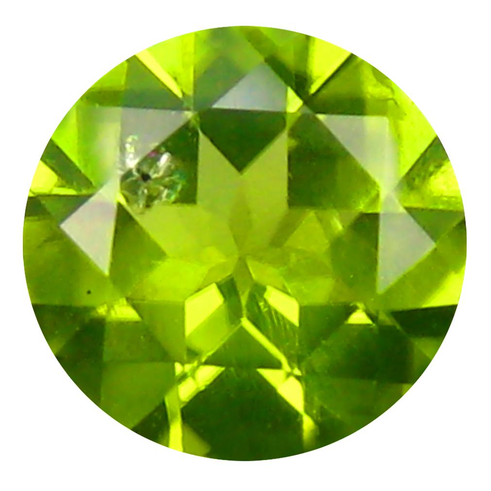 2.33 ct Gorgeous Round Cut (9 x 9 mm) Pakistan Green Peridot Natural Gemstone