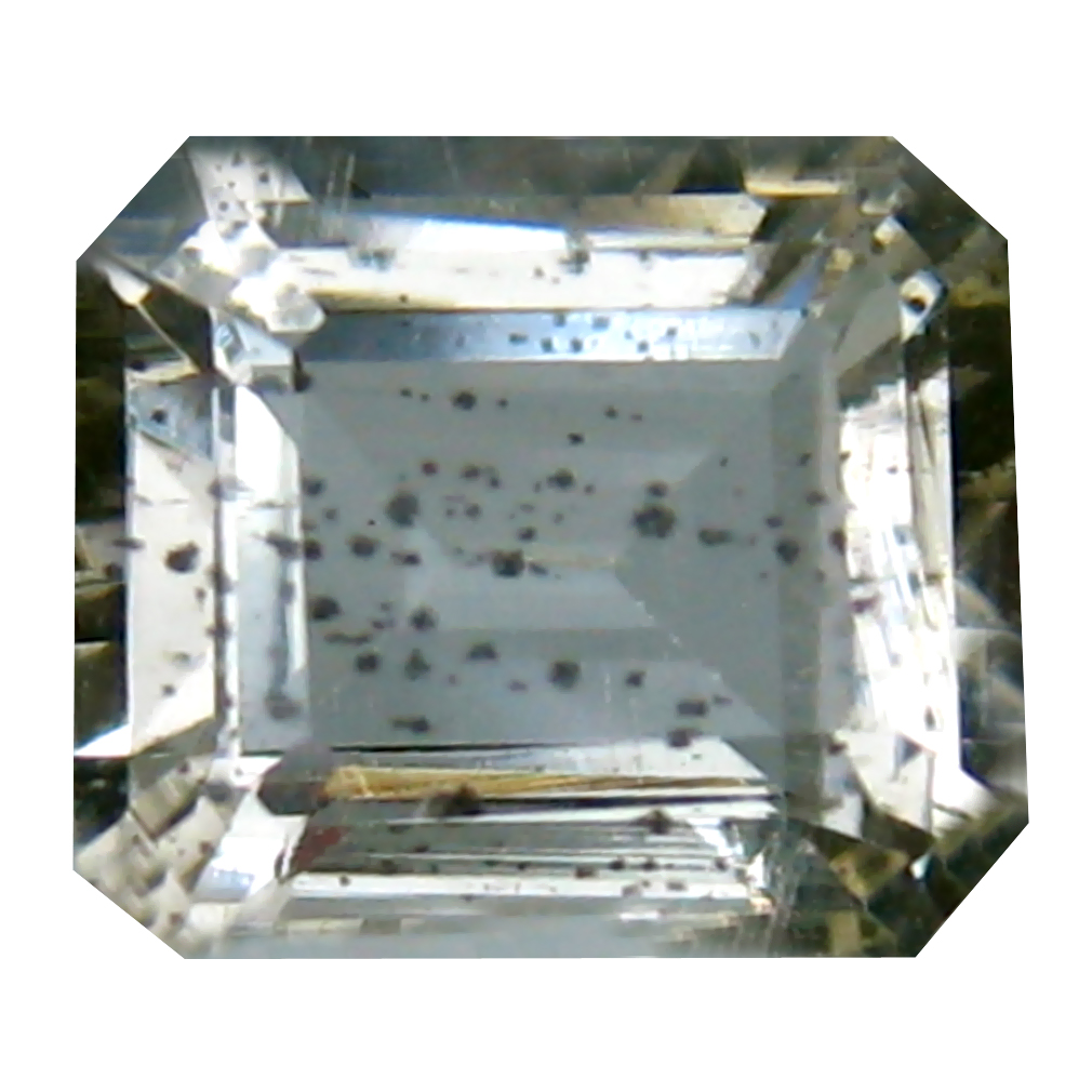 2.43 ct Eye-popping Octagon Cut (9 x 8 mm) Un-Heated Yellow Scapolite Natural Gemstone