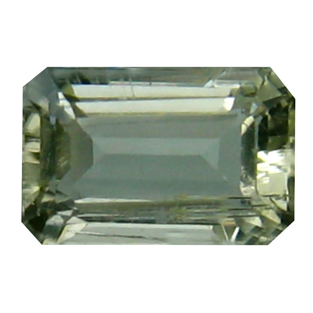 1.02 ct Very good Octagon Cut (7 x 5 mm) Un-Heated Yellow Scapolite Natural Gemstone