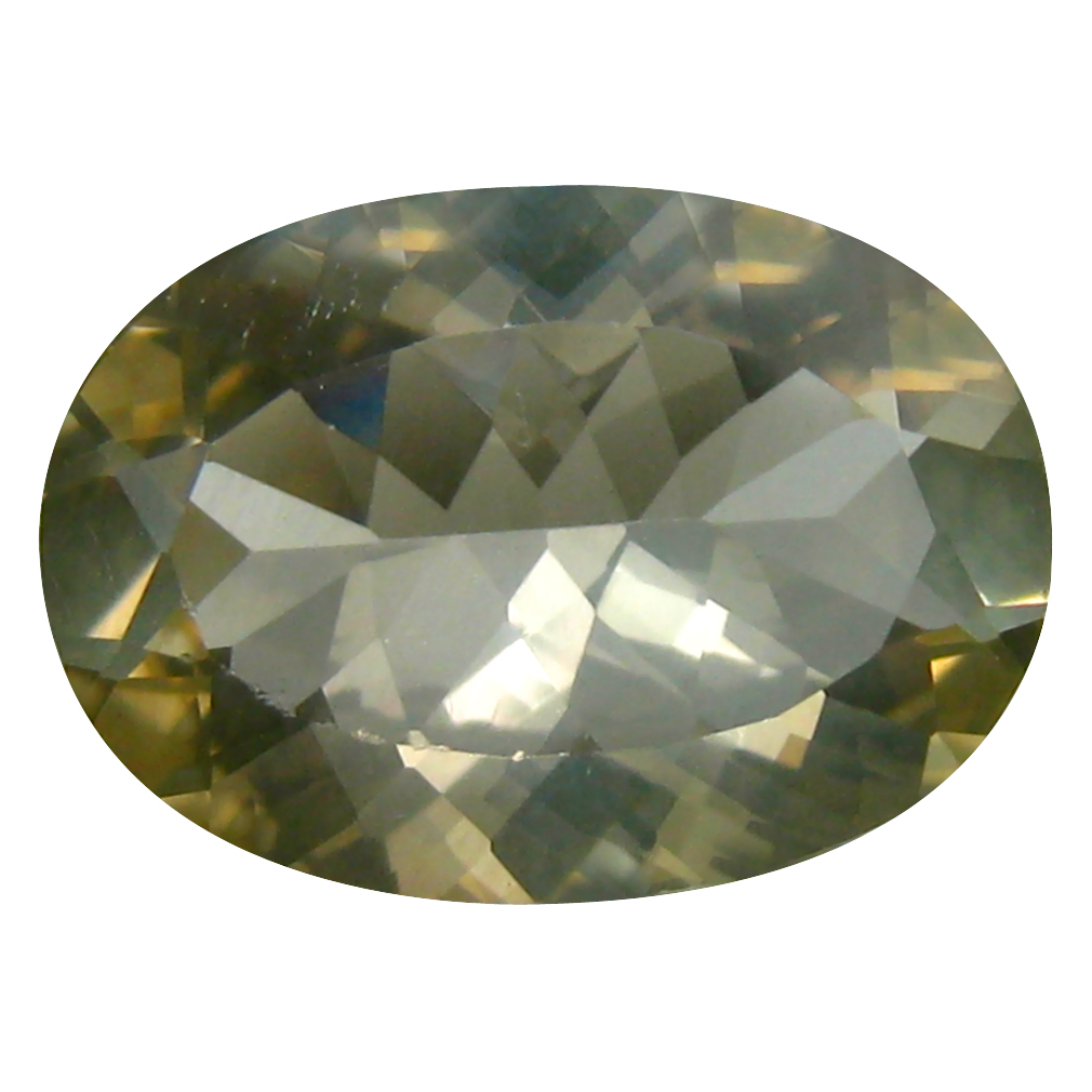 4.79 ct Very good Oval (14 x 10 mm) Un-Heated Congo Yellow Andesine Loose Gemstone