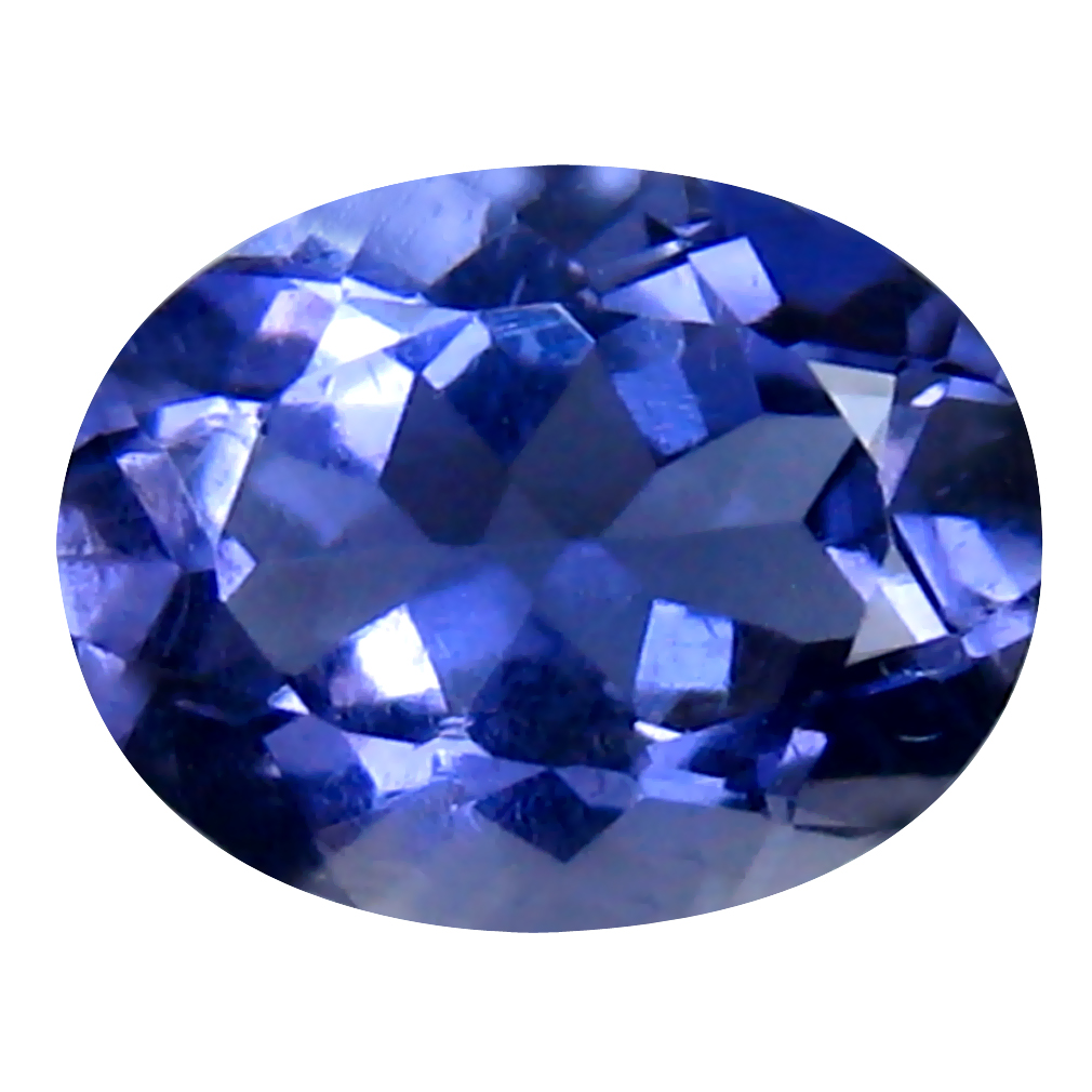 1.65 ct Supreme Oval Cut (9 x 7 mm) Un-Heated Blue Iolite Natural Gemstone