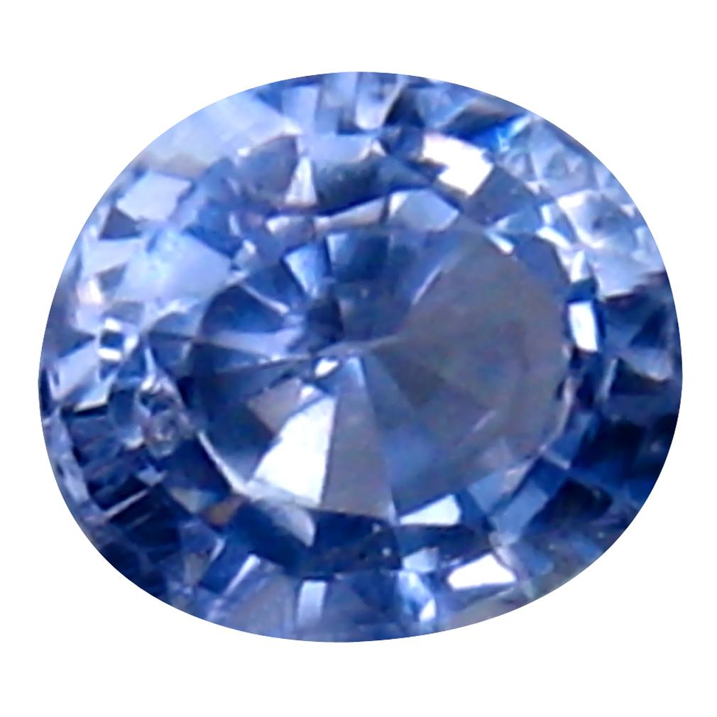 0.61 ct Magnificent fire Oval (5 x 5 mm) Heated Ceylon - Sri Lanka Blue Sapphire Loose Gemstone