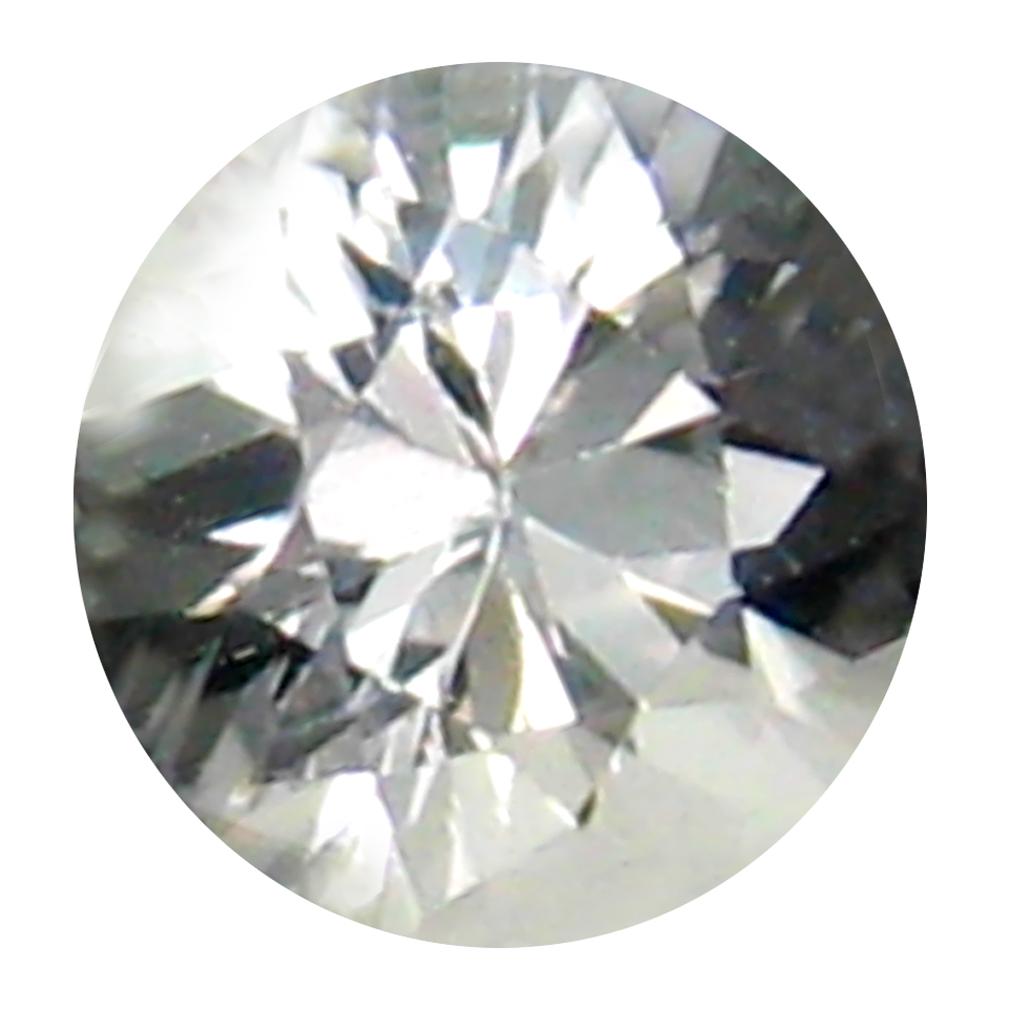 0.43 ct Fantastic Round Cut (5 x 5 mm) 100% Natural (Un-Heated) White Danburite Natural Gemstone