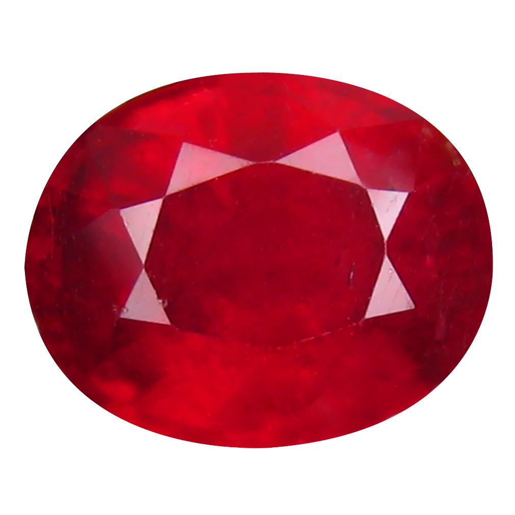 4.46 ct Great looking Oval Cut (10 x 8 mm) Mozambique Pigeon Blood Red Ruby Natural Gemstone