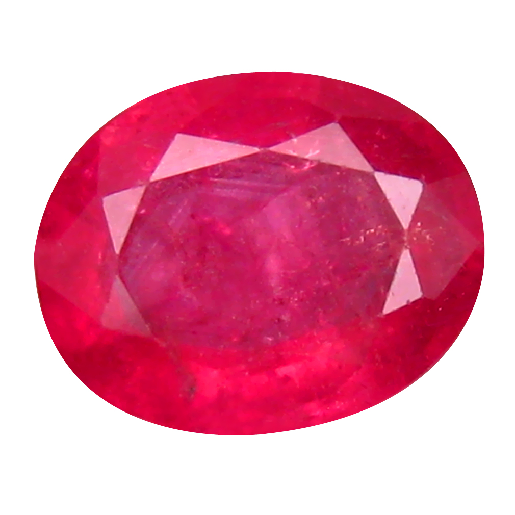 2.15 ct Fabulous Oval Cut (9 x 7 mm) Mozambique Pigeon Blood Red Ruby Natural Gemstone