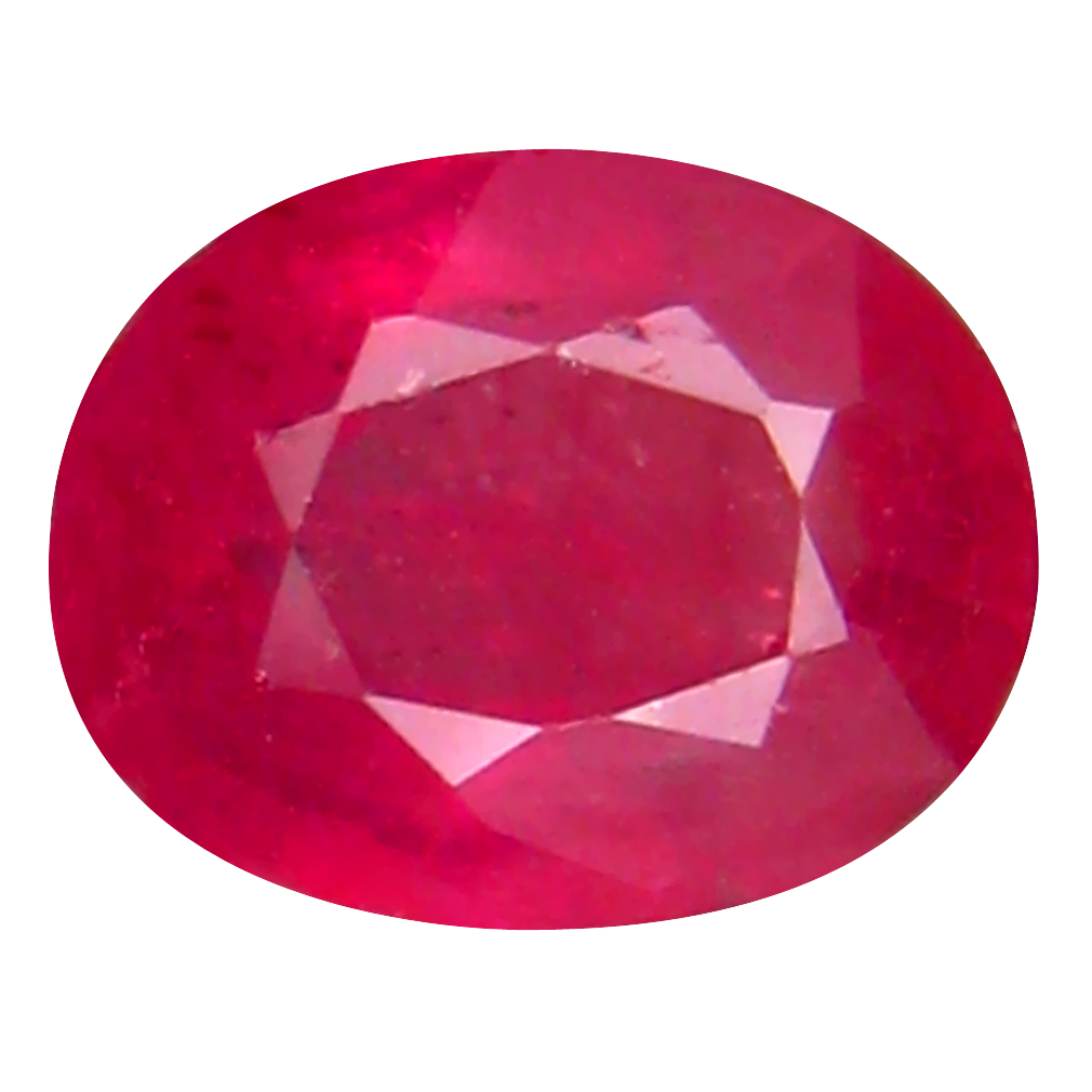 2.01 ct Best Oval Cut (8 x 7 mm) Mozambique Pigeon Blood Red Ruby Natural Gemstone