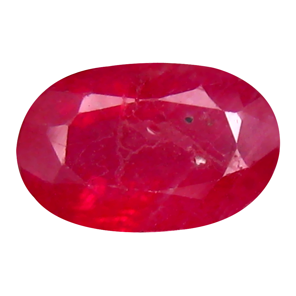 2.06 ct Incredible Oval Cut (9 x 6 mm) Mozambique Pigeon Blood Red Ruby Natural Gemstone