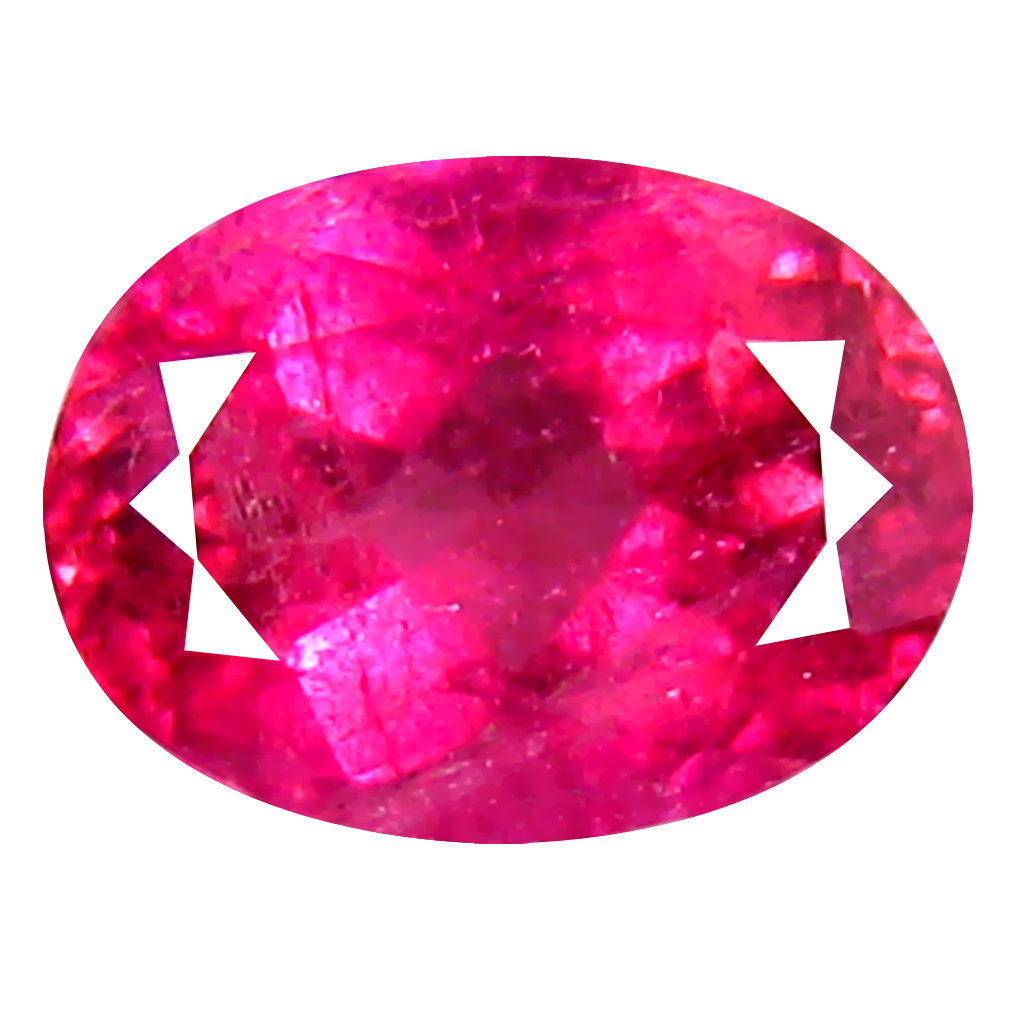 1.14 ct  Good-looking Oval Shape (7 x 6 mm) Reddish Pink Rubellite Tourmaline Natural Gemstone