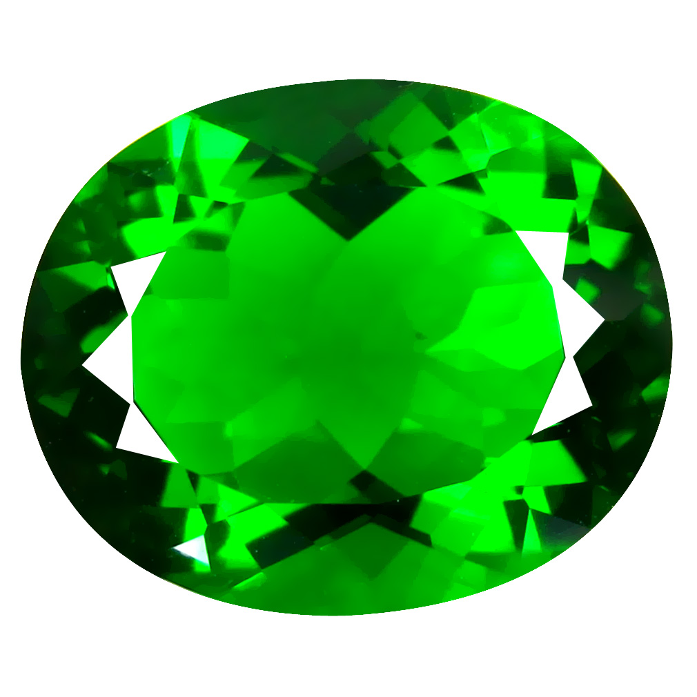 15.00 ct  Unbelievable Oval Shape (19 x 15 mm) Green Moldavite Natural Gemstone