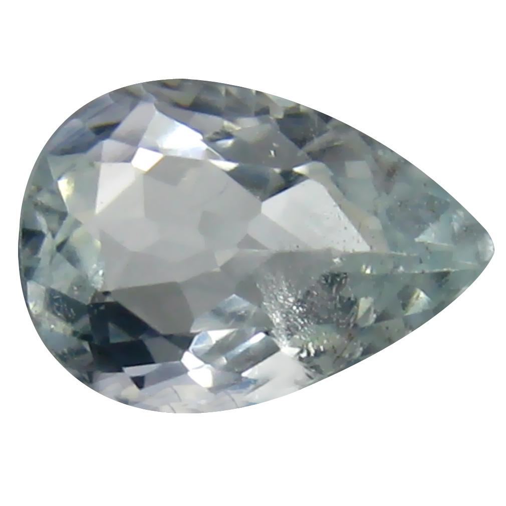 1.39 ct  Grade Supreme Pear Cut (10 x 7 mm) Genuine Aquamarine Loose Stone