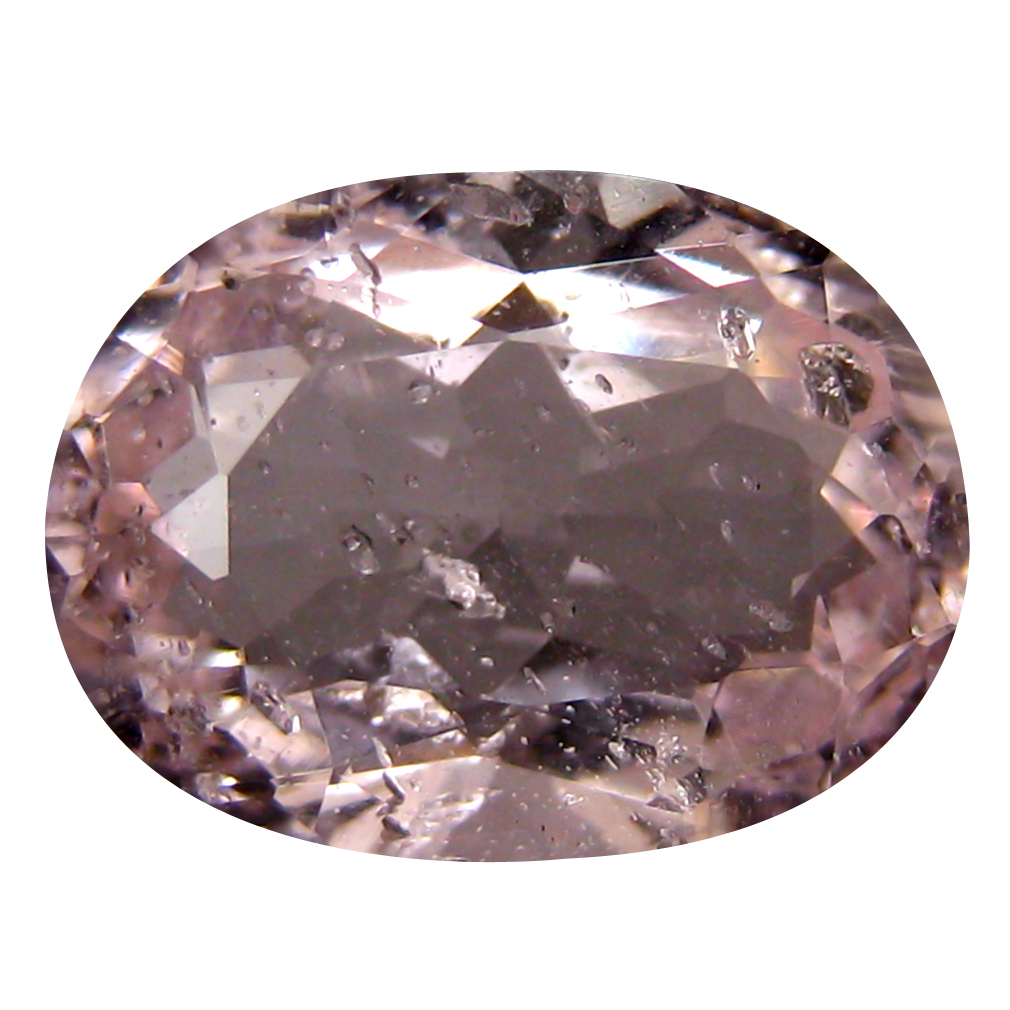 3.08 ct Incomparable Oval Cut (11 x 8 mm) Un-Heated Fancy Light Pink Morganite Natural Gemstone