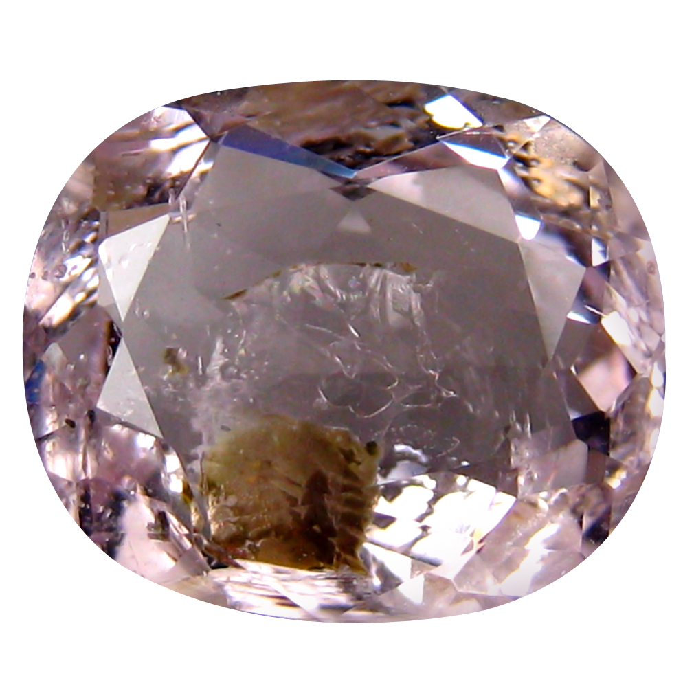 3.39 ct Exquisite Oval Cut (11 x 10 mm) Un-Heated Fancy Light Pink Morganite Natural Gemstone