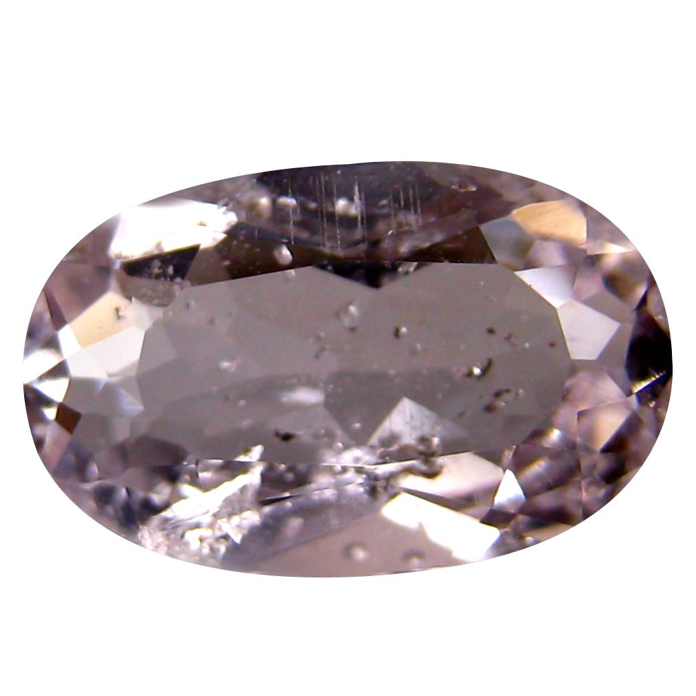 2.05 ct Fair Oval Cut (11 x 7 mm) Un-Heated Fancy Light Pink Morganite Natural Gemstone