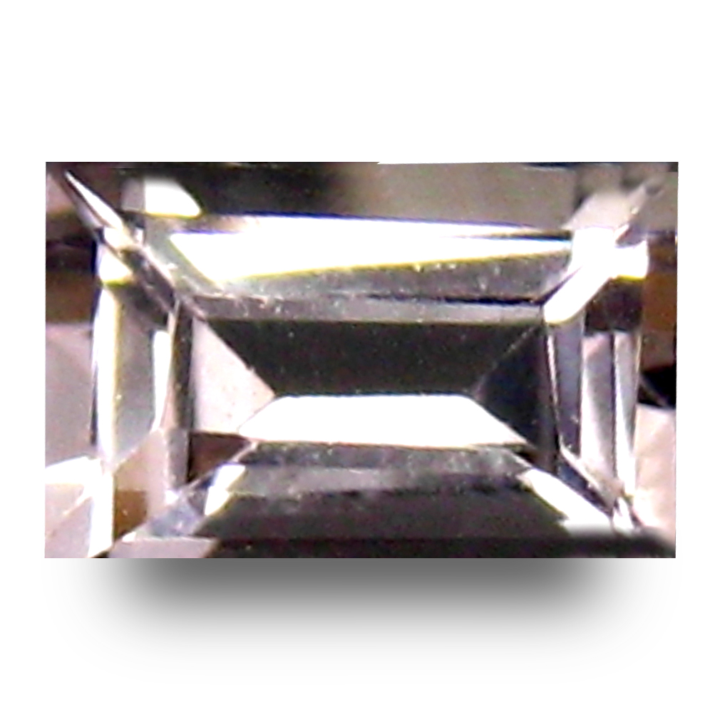 0.35 ct Beautiful Octagon Cut (6 x 4 mm) Pink Color Natural Morganite Natural Gemstone