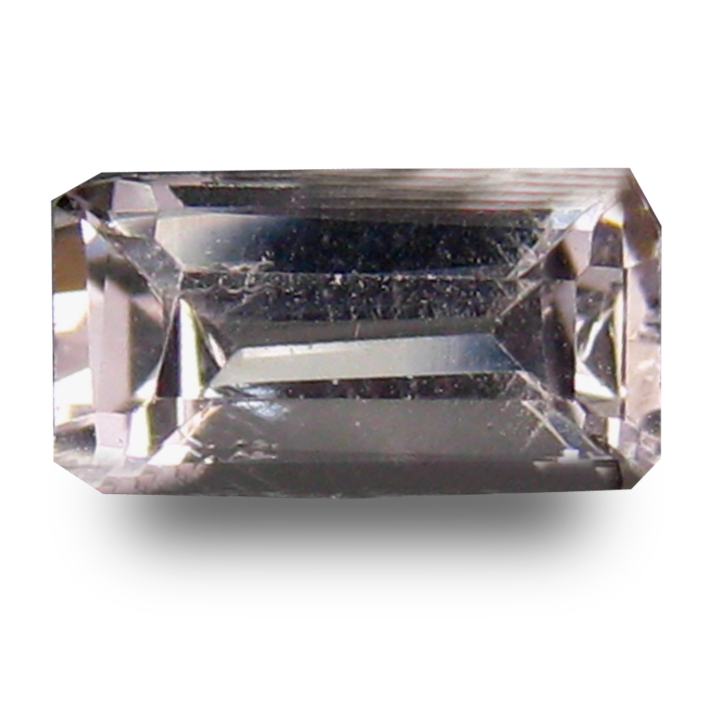 0.65 ct Grand looking Octagon Cut (7 x 4 mm) Pink Color Natural Morganite Natural Gemstone