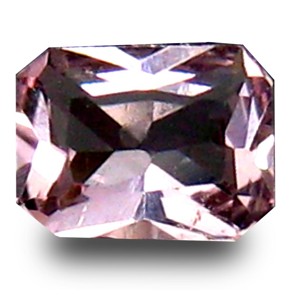 0.19 ct Super-Excellent Octagon Cut (4 x 3 mm) Pink Color Natural Morganite Natural Gemstone