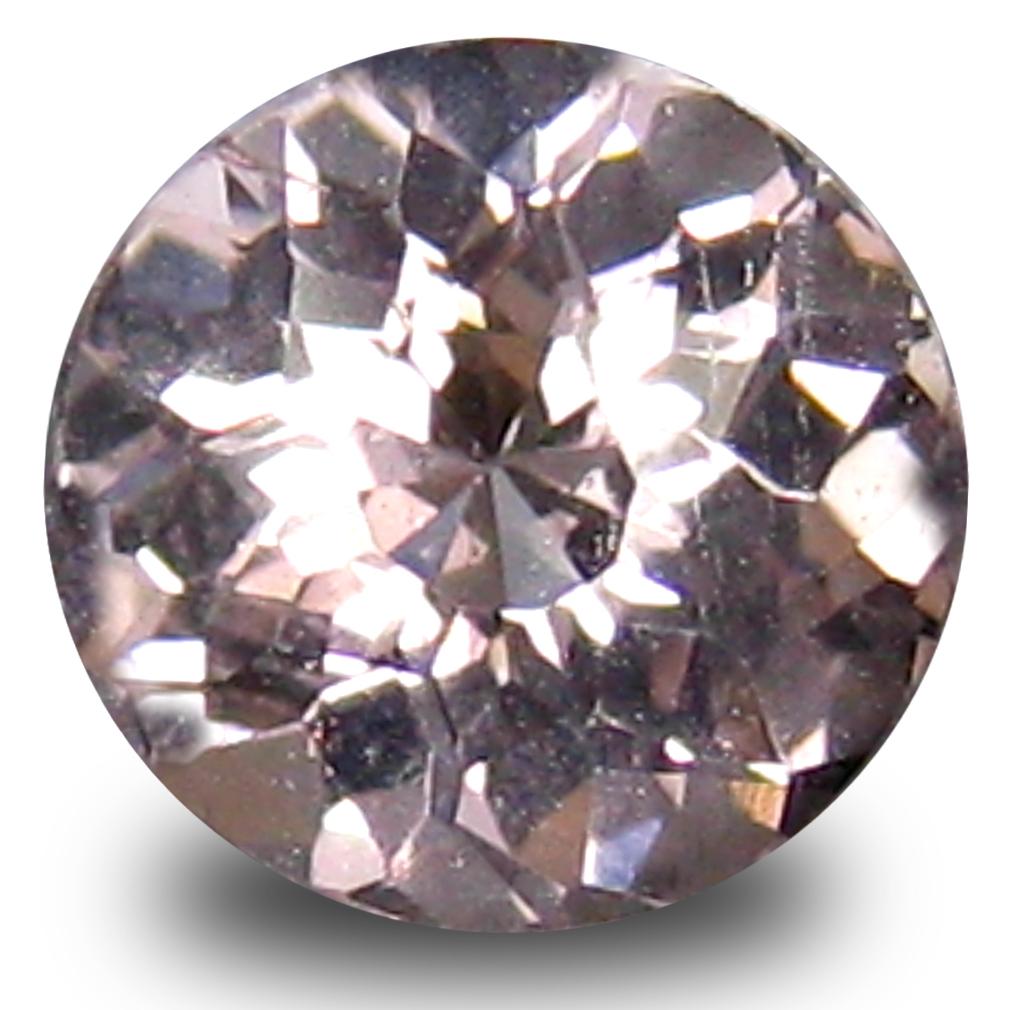 0.49 ct Romantic Oval Cut (5 x 5 mm) Pink Color Natural Morganite Natural Gemstone