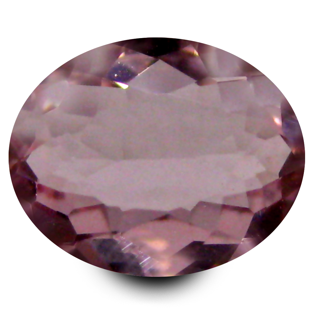 0.44 ct First-class Oval Cut (6 x 5 mm) Pink Color Natural Morganite Natural Gemstone
