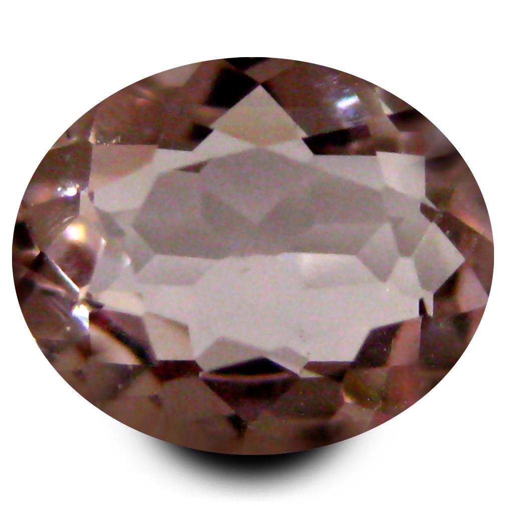 0.71 ct Terrific Oval Cut (7 x 6 mm) Pink Color Natural Morganite Natural Gemstone