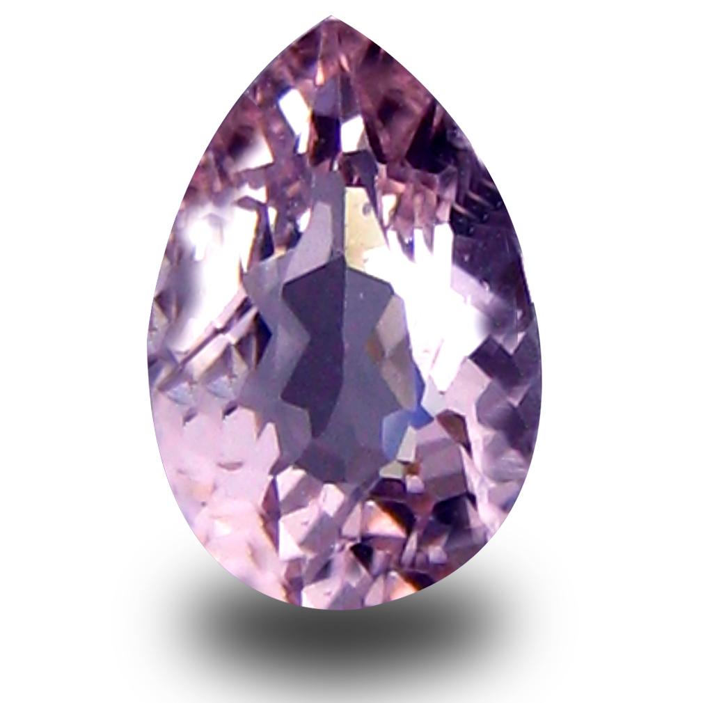 0.45 ct Eye-catching Pear Cut (6 x 4 mm) Pink Color Natural Morganite Natural Gemstone
