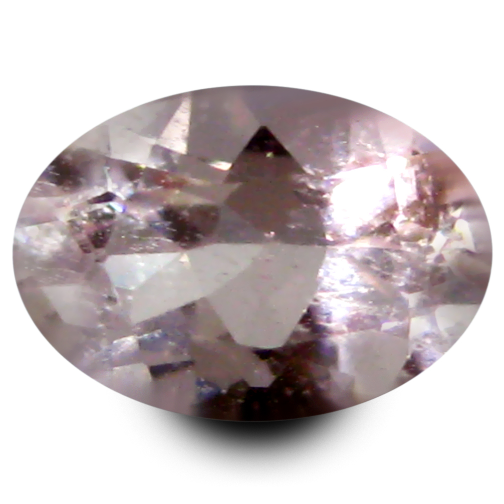 0.62 ct Tremendous Oval Shape (7 x 5 mm) Peach Pink Morganite Genuine Stone