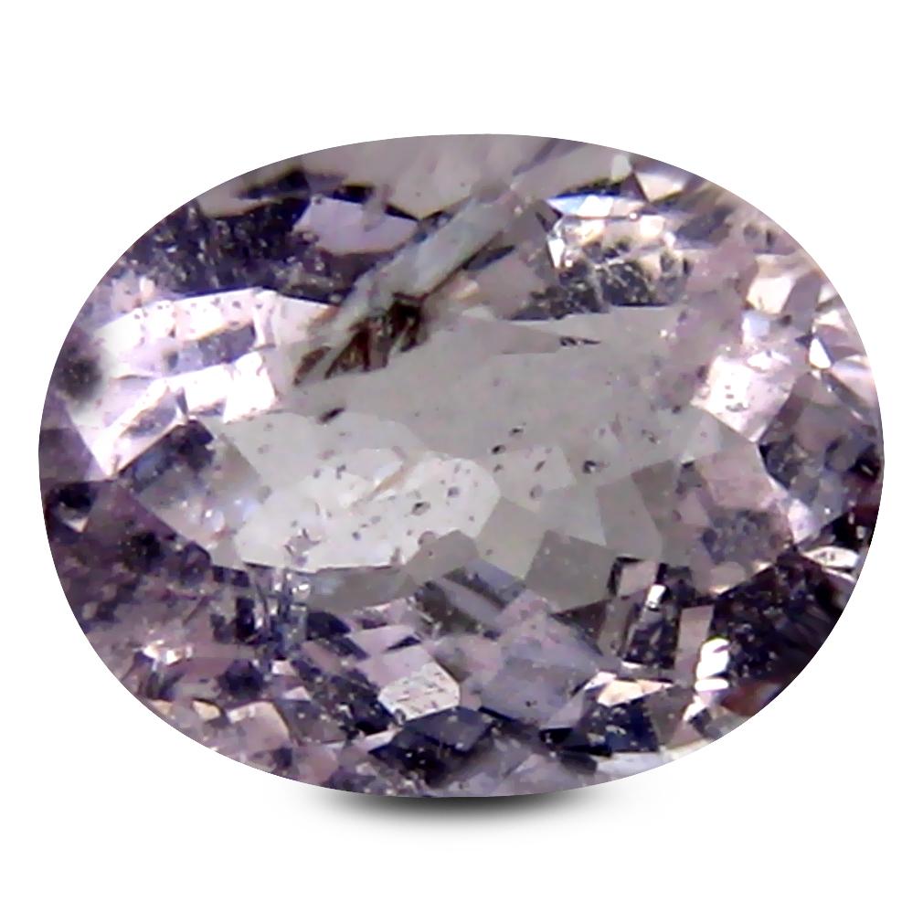 1.37 ct AAA Mesmerizing Oval Shape (8 x 7 mm) Pink Morganite Natural Gemstone