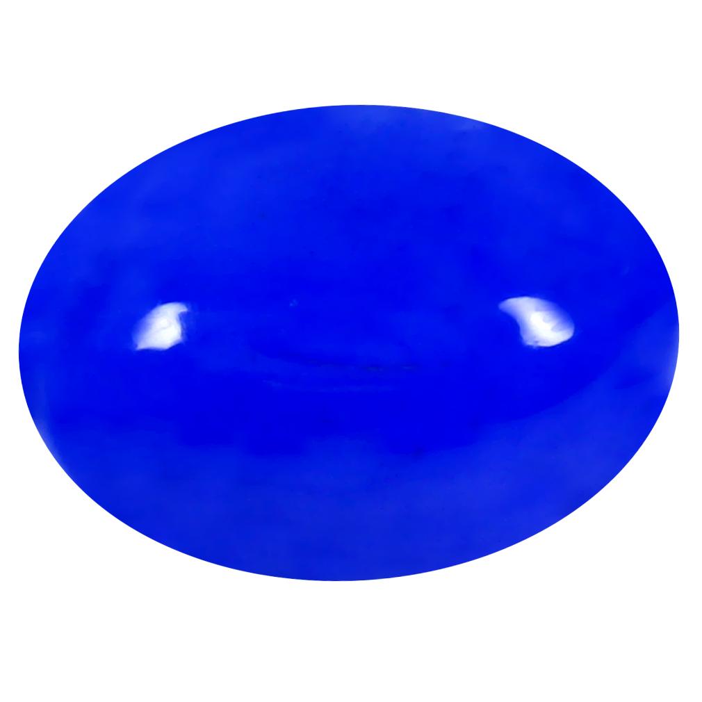 2.44 ct  Pleasant Oval Cabochon Shape (14 x 10 mm) Violet Opal Natural Gemstone