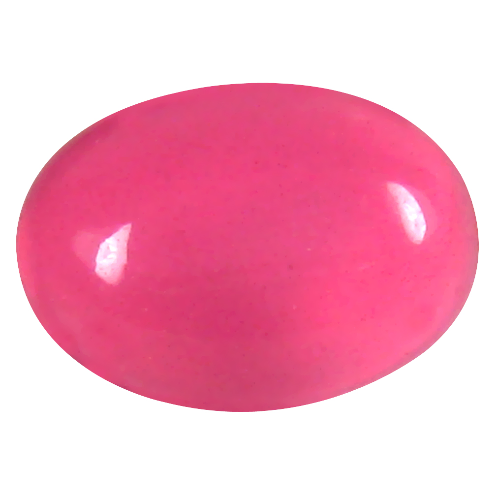 1.26 ct  Tremendous Oval Cabochon Shape (9 x 7 mm) Pink Opal Natural Gemstone