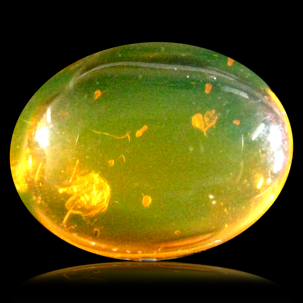 1.50 ct Good-looking Fancy Cabochon Cut (9 x 7 mm) Un-Heated Natural Orange Fire Opal Loose Gemstone