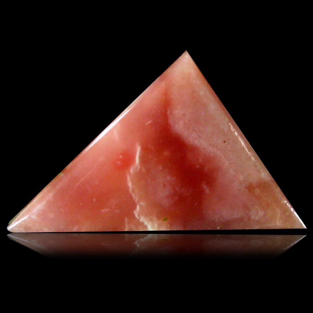 20.36 ct Spectacular Cabochon Cut (31 x 17 mm) Pink Rhodochrosite Loose Stone