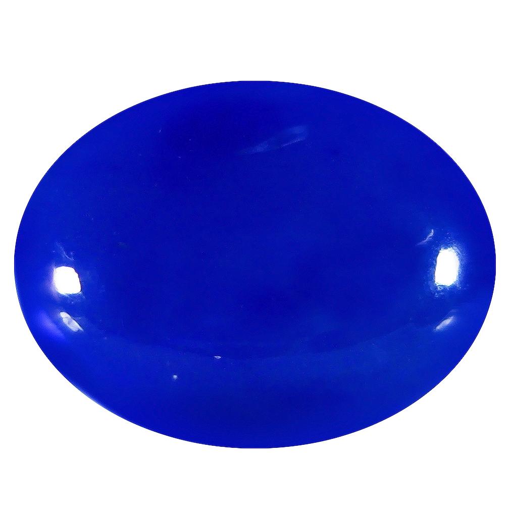 2.17 ct  Terrific Oval Cabochon Shape (12 x 9 mm) Violet Opal Natural Gemstone
