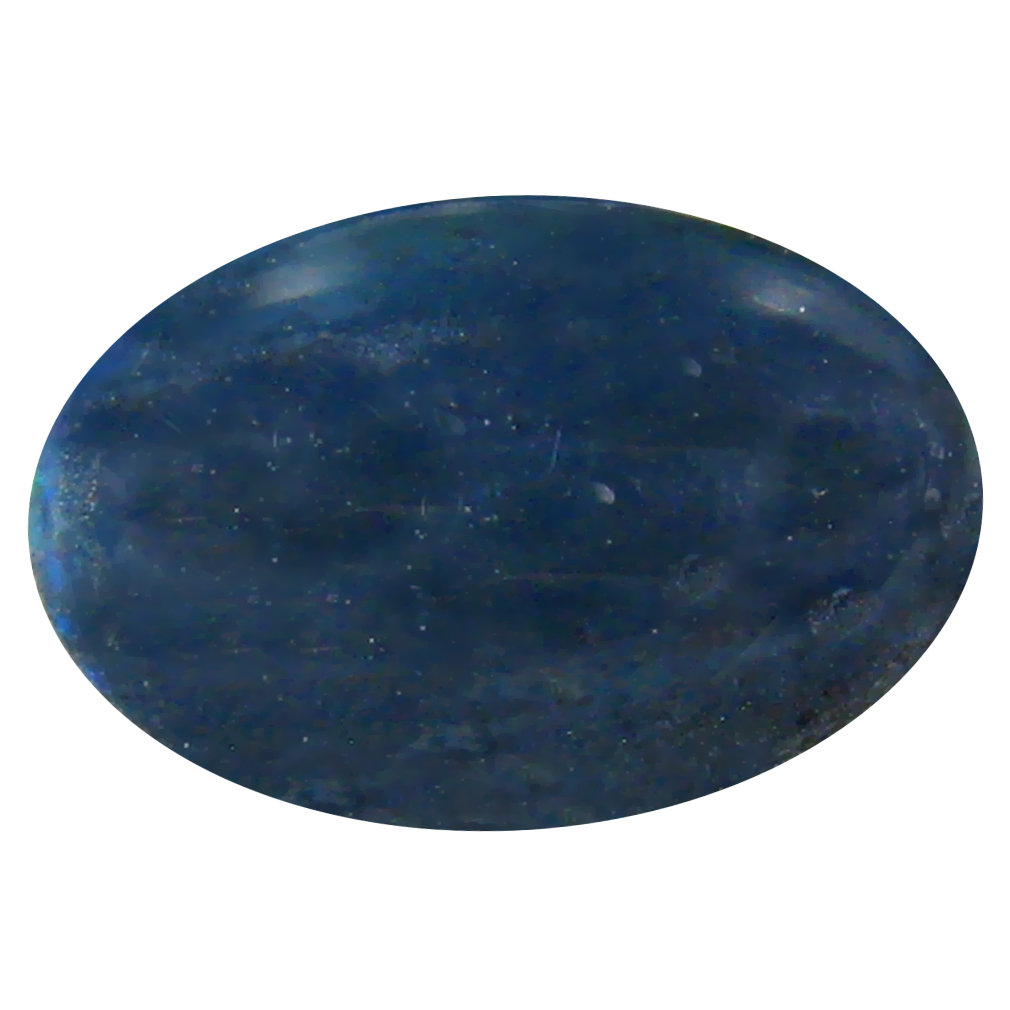 2.03 ct AAA Mesmerizing Oval Cabochon Shape (13 x 9 mm) Natural Black Opal Loose Stone