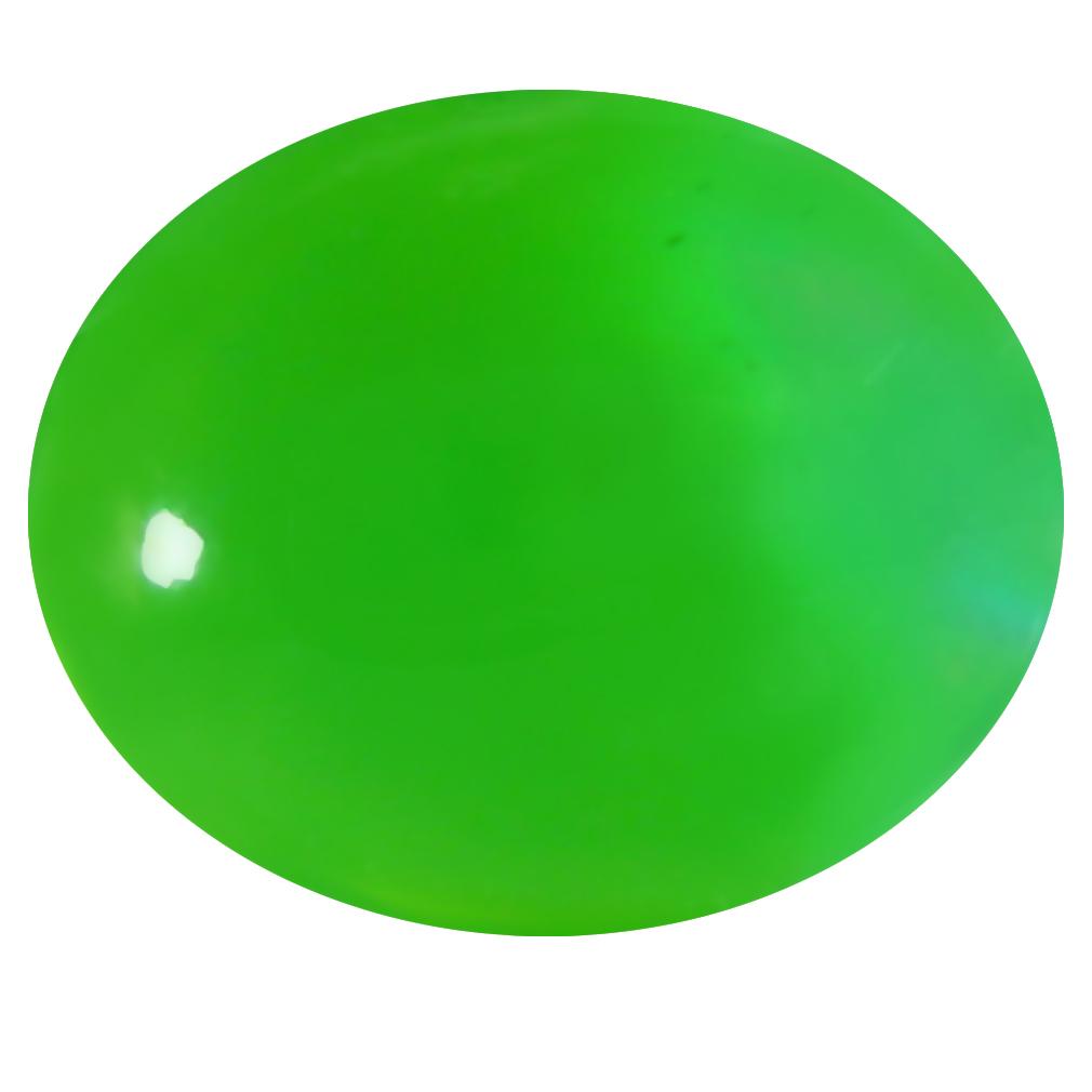 1.39 ct  Impressive Oval Cabochon Shape (10 x 8 mm) Green Opal Natural Gemstone