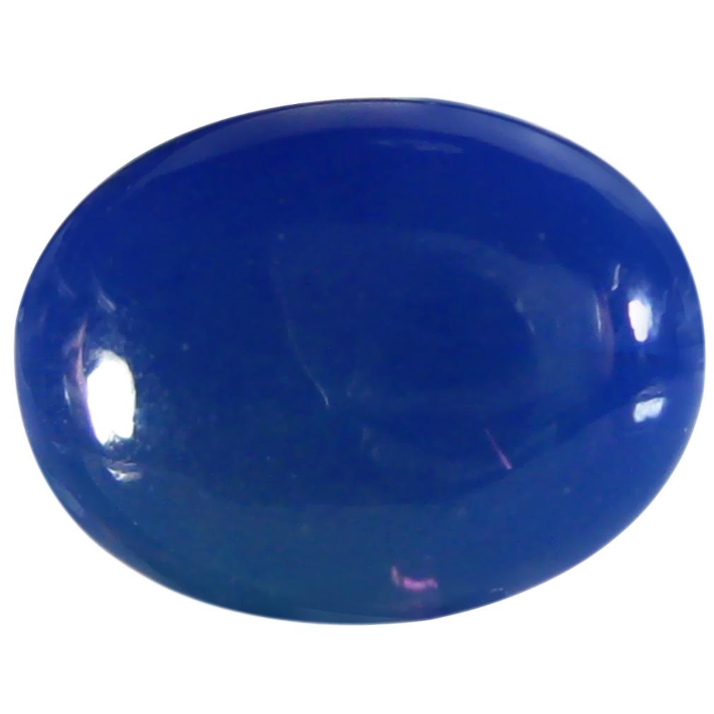1.78 ct  Fantastic Oval Cabochon Shape (11 x 8 mm) Violet Opal Natural Gemstone