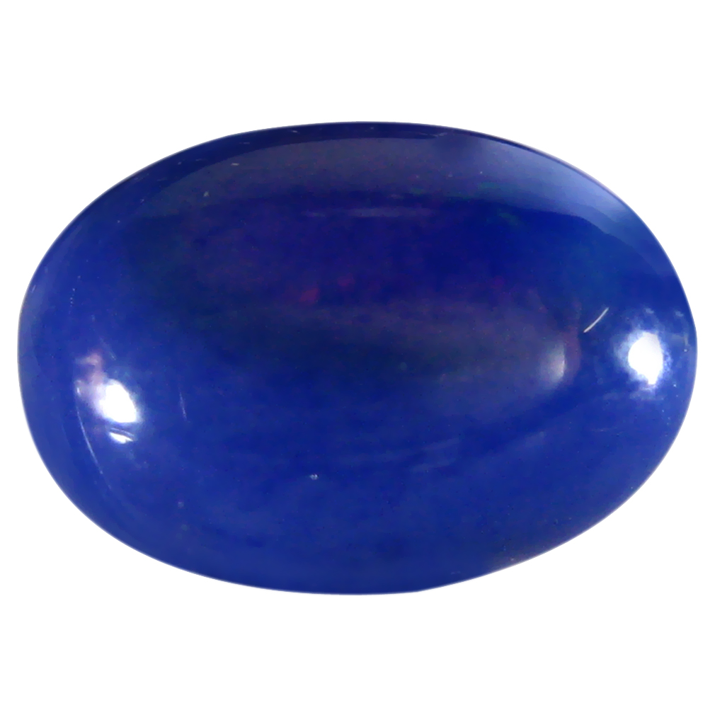 1.84 ct  Splendid Oval Cabochon Shape (11 x 8 mm) Violet Opal Natural Gemstone