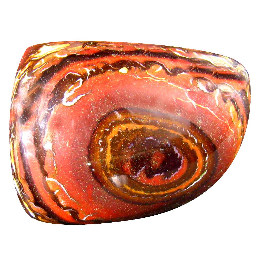 26.66 ct Gorgeous Fancy Cabochon Shape (24 x 18 mm) Play of Colors Australian Koroit Boulder Opal Natural Loose Gemstone