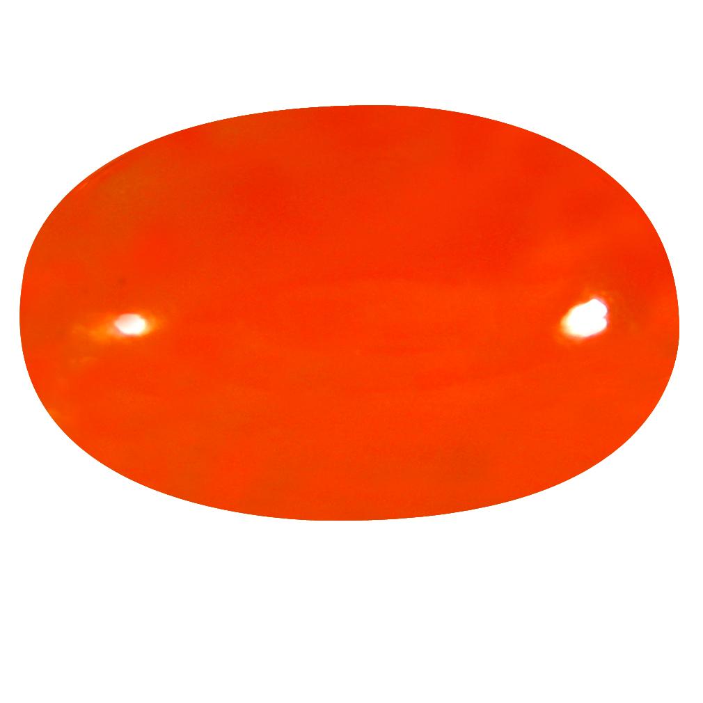 2.06 ct  World class Oval Cabochon Shape (12 x 8 mm) Yellow Opal Natural Gemstone