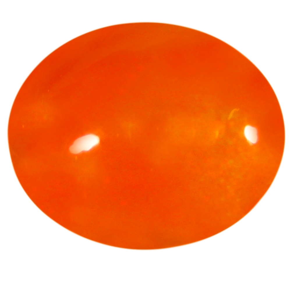 3.18 ct  Best Oval Cabochon Shape (12 x 10 mm) Yellow Opal Natural Gemstone