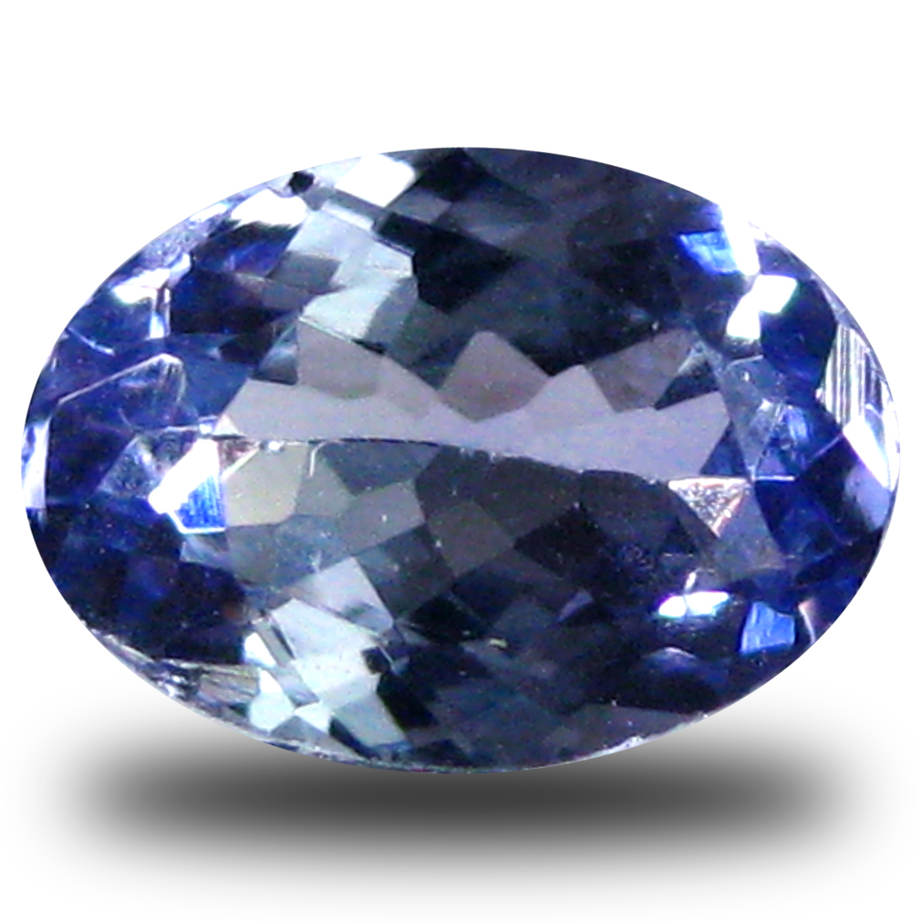 0.63 ct AAA Eye-opening Oval Shape (7 x 5 mm) Bluish Violet Tanzanite Natural Gemstone