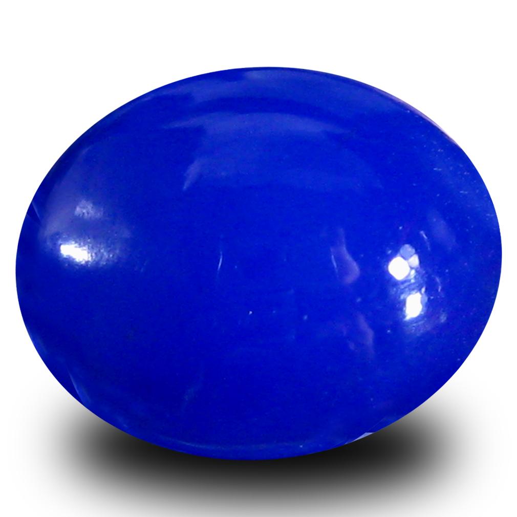 2.45 ct  Sparkling Oval Cabochon Shape (11 x 9 mm) Violet Opal Natural Gemstone
