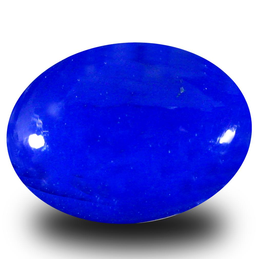 2.25 ct  Resplendent Oval Cabochon Shape (12 x 9 mm) Violet Opal Natural Gemstone